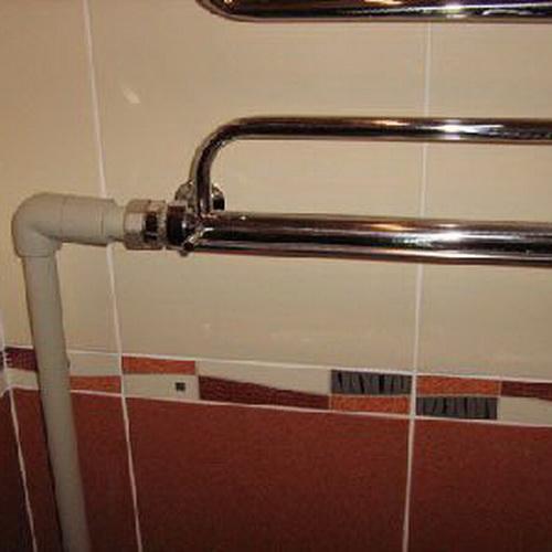 Замена полотенцесушителя в ванной цена в москве
