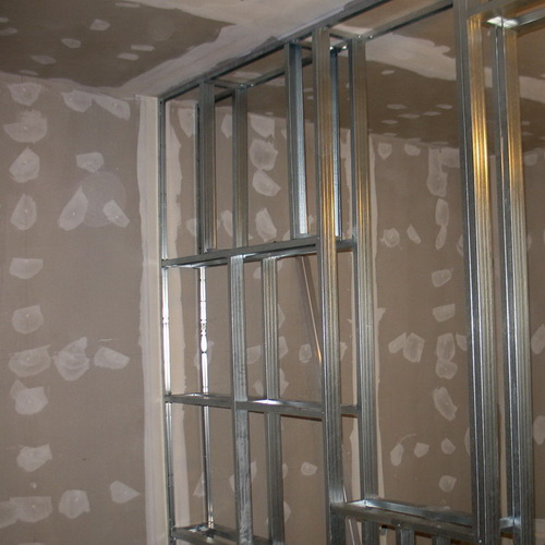 Как сделать перегородку не до потолка из гипсокартона